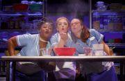 Charity Angel Dawson, Desi Oakley and Lenne Klingaman in the U.S. National Tour of Waitress (photographer: Joan Marcus)