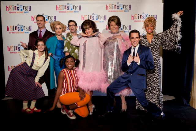 hairspray the musical cast announced stage whispers