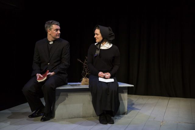 doubt a parable by john patrick John patrick shanley's pulitzer and tony-winning play is a master study in the crushing weight of ambiguity, a complex clash of perspectives that leaves nothing .