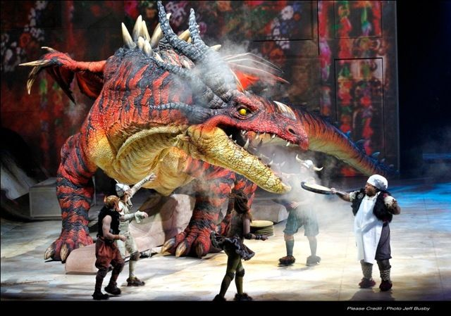 World Premiere How To Train Your Dragon Arena