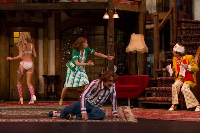 Noises Off Stage Whispers