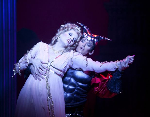 Orpheus in the underworld stage whispers for Hs offenbach