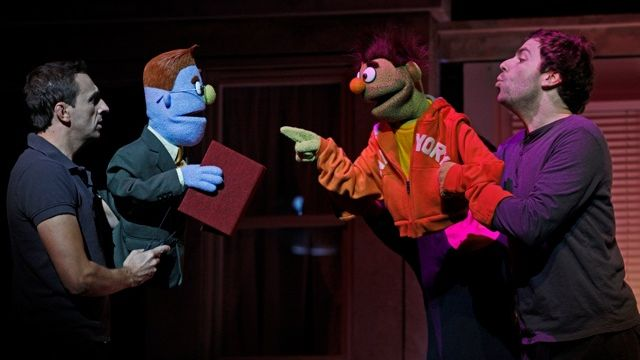 AVENUE Q Music & Lyrics: Robert Lopez & Jeff Marx. Book: Jeff Whitty