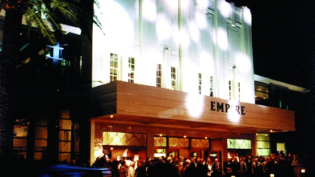 THE EMPIRE THEATRE OF THE STARS - A Postcard from Toowoomba Queensland.