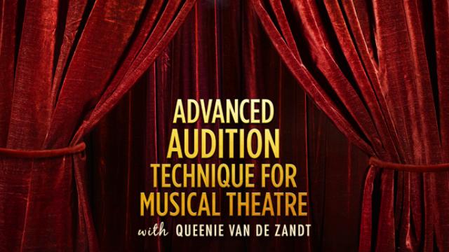 Advanced Audition Technique for Musical Theatre Course