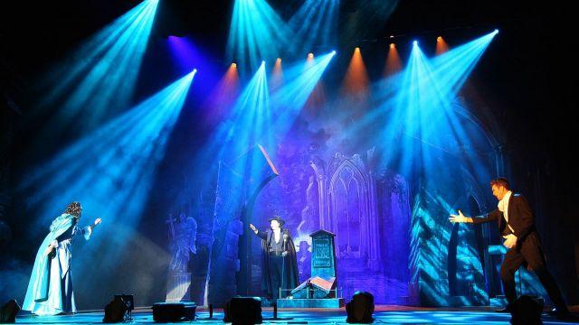 The Phantom of the Opera Lighting Rig