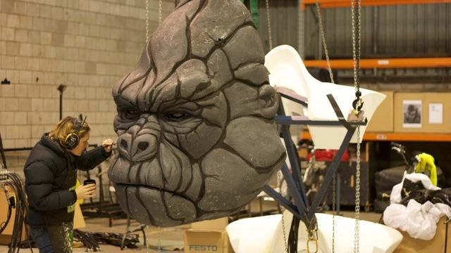Designing KING KONG: The Creature, The Sets and the Costumes