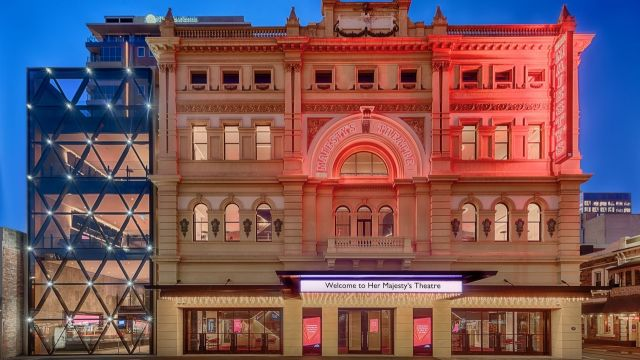 New Look Her Majesty's Theatre Adelaide Unveiled