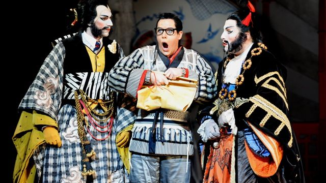 The Mikado by Gilbert and Sullivan