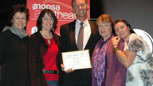 Buderim Playwright Takes Out Top One-Act Play Honours.