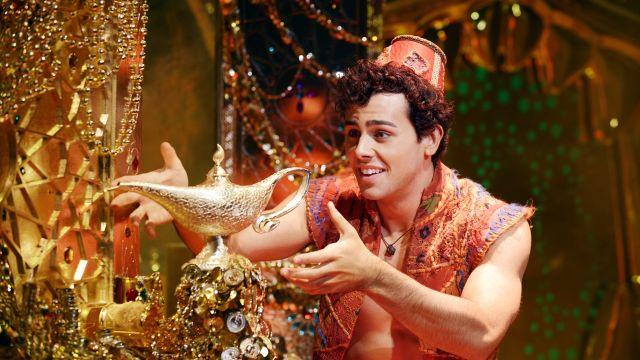 Aussie Aladdin on Broadway
