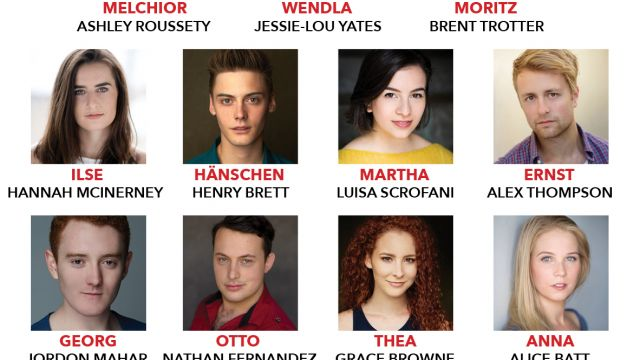 StageArt announces the cast for Spring Awakening