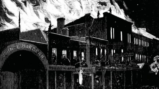 Theatres on Fire – The Victorian Curse.