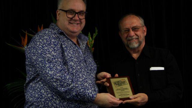 David Walters' Lifetime Achievement Award