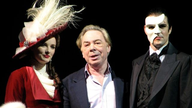 Lloyd Webber in Oz for Love Never Dies