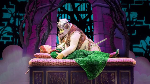 Ben Mingay and Lucy Durack in Shrek