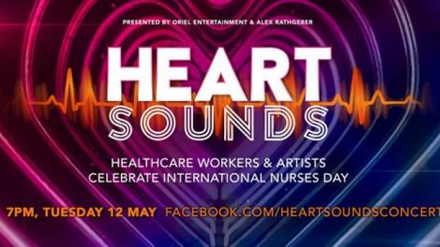 Healthcare Workers and Artists Celebrate International Nurses Day with HEART SOUNDS