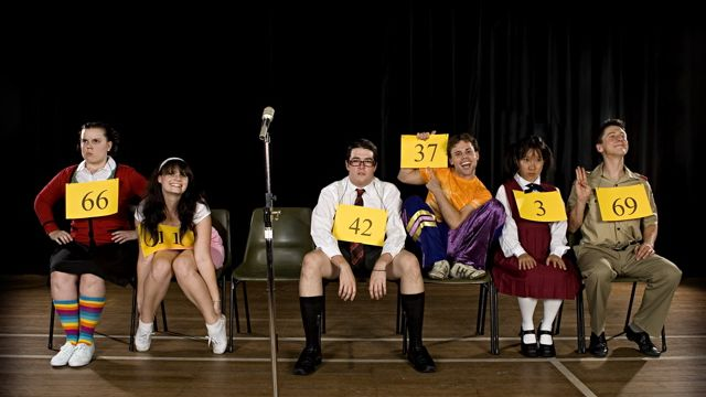a review of frisco community theaters production of the 25th annual putnam county spelling bee The 25th annual putnam county spelling bee is a musical comedy with music  and lyrics by  the 2005 broadway production, directed by james lapine and  produced by david stone, james l nederlander,  spelling bee premiered on  broadway at the circle in the square theatre on april 15, 2005 and closed on.