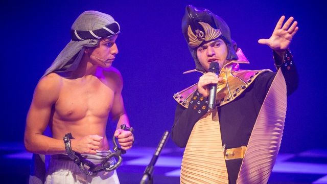 Joseph and the Amazing Technicolour Dreamcoat.