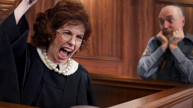 Judge Jackie: Disorder in the Court.
