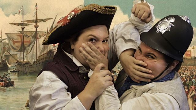 May & Alia Do Pirates (of Penzance)