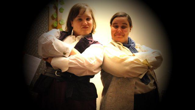 May & Alia do Pirates!