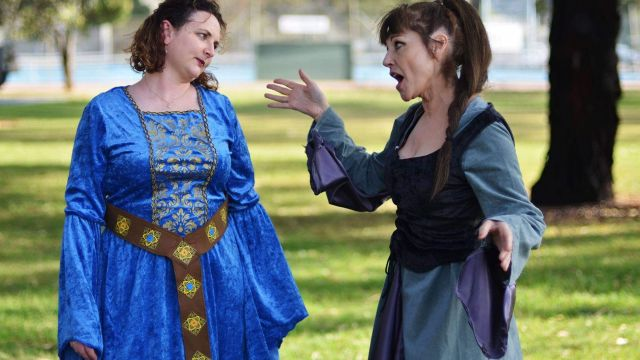 The Merry Wives of The Merchant of Venice (or Windsor)