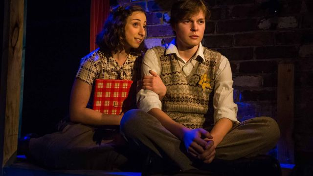 Anne Frank Diary for Castle Hill Stage