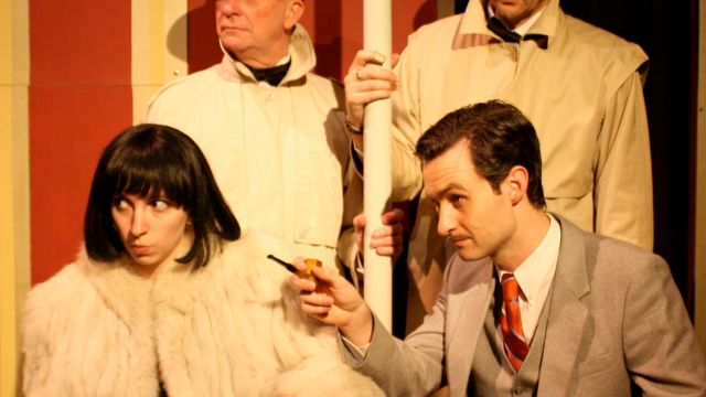 39 Steps: Spy Farce for Woy Woy.
