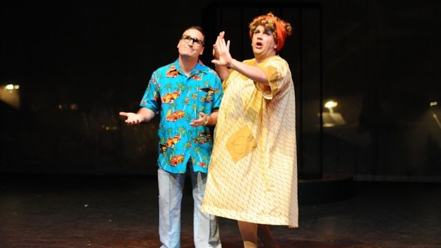 Hairspray: Tales of man in a fat suit and high heels.