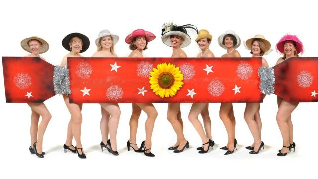 Calendar Girls Strike a Pose at Hunters Hill