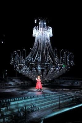It S All Over If The Fat Chandelier Sinks Stage Whispers