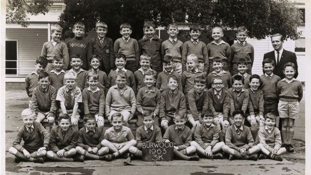 BRUSH WITH FAME. WHEN AC/DC STAR FIRST WORE HIS SCHOOL UNIFORM.