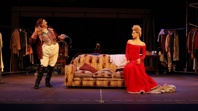 Tim Watson (Jack) and Charisse Graber (Princess) from Jack and the Ogre with Joshua Spicer)