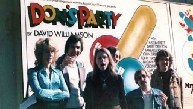 Age Has Not Wearied David Williamson … As Don Parties On