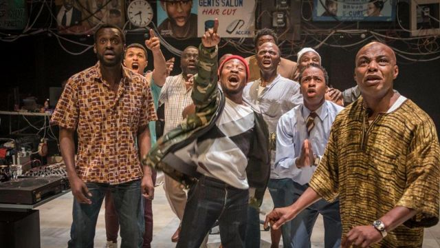 National Theatre's Barber Shop Chronicles FREE Online