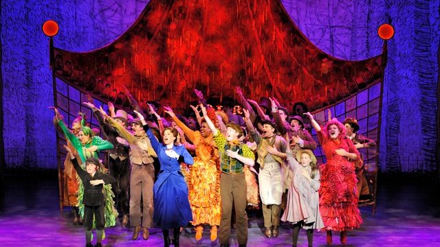 Mary Poppins – View from the Ensemble