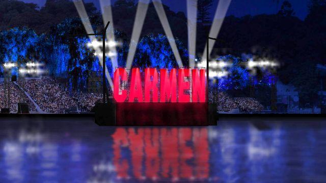 Carmen Sings on Water