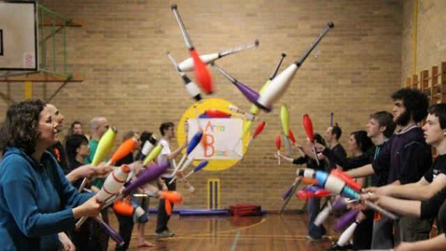 Melbourne Juggling Convention 2011