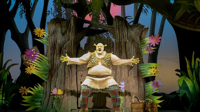 Shrek The Musical in 2020.