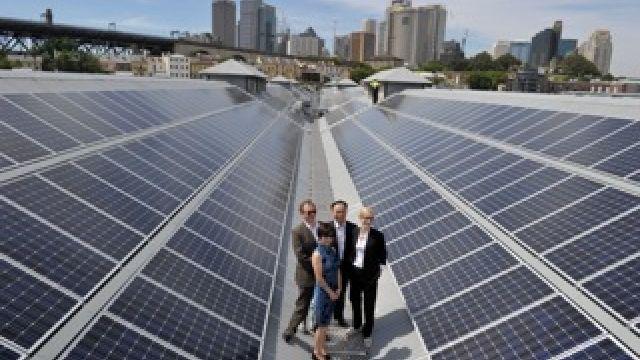 Sydney Theatre Company Goes Solar