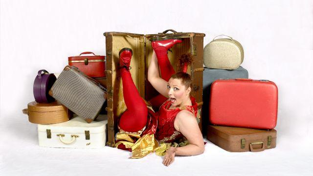 Hazel's Circus Suitcase.