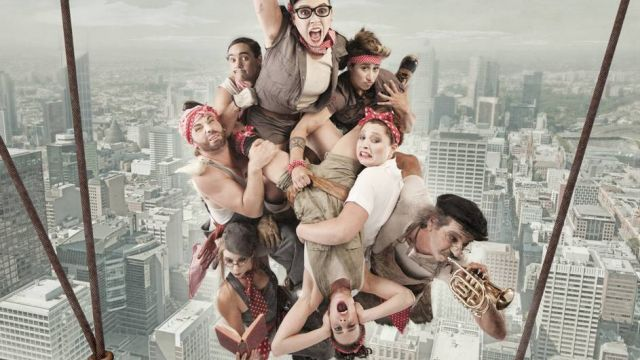 Circus Oz: From the Ground Up