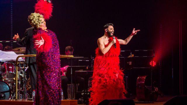 Conchita Wurst & Trevor Ashley In Concert
