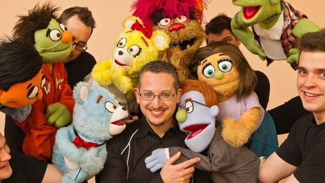 Cheeky, Naughty Avenue Q Puppets for Rockdale (NSW).