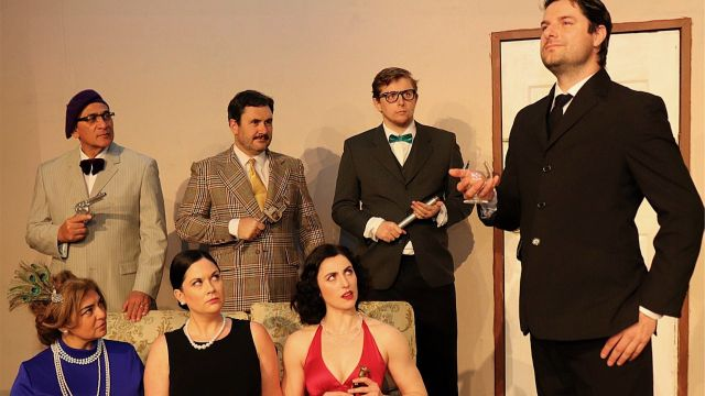 Murder Mystery Clues at Melville Theatre