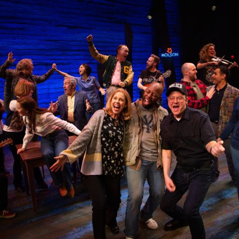 Come From Away. Photographer: Jeff Busby