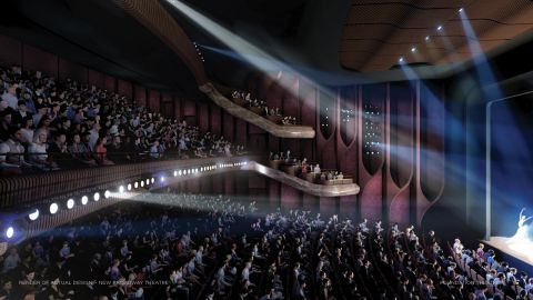 New 1500 and 1000 Seat Theatres for Sydney