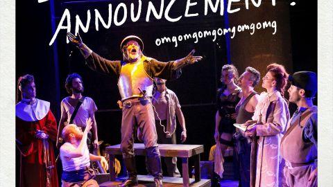 Theatre Companies Celebrate Grants