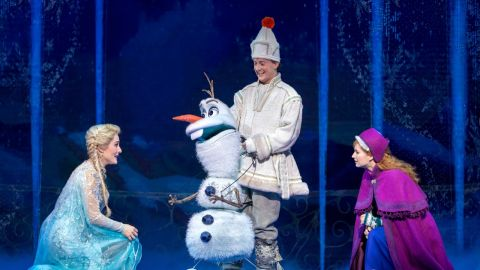 Frozen for Brisbane in February 2021